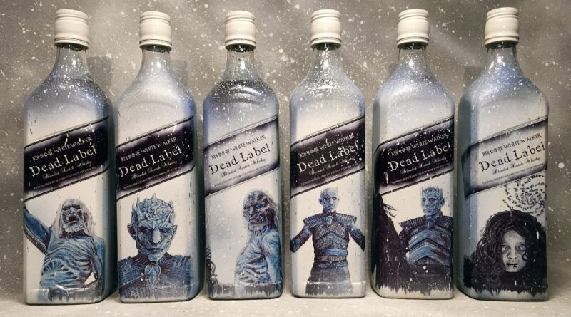 02 Game of Thrones tendra su coleccion de whisky gracias a Johnnie Walker