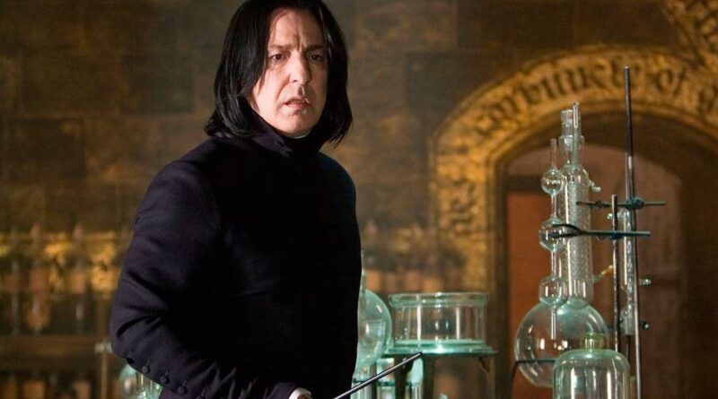 Harry Potter Alan Rickman no era feliz siendo Severus Snape
